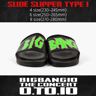 <OFFICIAL GOODS>[BIGBANG MADE][10th]SLIDE SLIPPER TYPE 1
