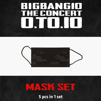 <OFFICIAL GOODS>[BIGBANG MADE][10th]BIGBANG BLACK MASK