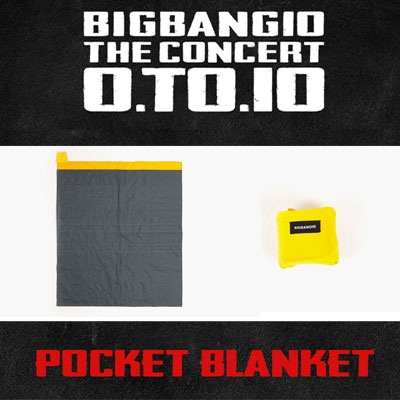 <OFFICIAL GOODS>[BIGBANG MADE][10th]BIGBANG POCKET BLANKET
