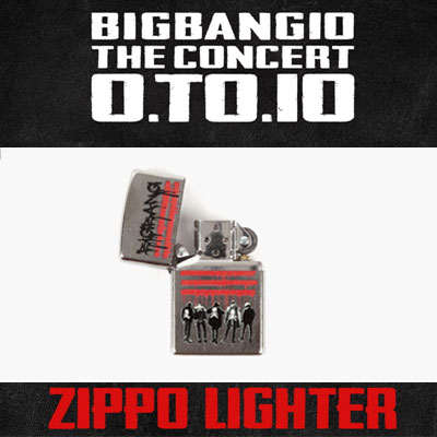<OFFICIAL GOODS>[BIGBANG MADE][10th]BIGBANG ZIPPO LIGHTER