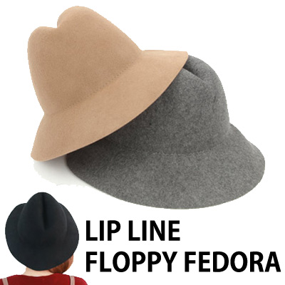 LIP LINE FLOPPY FEDORA
