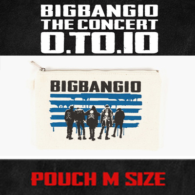 <OFFICIAL GOODS>[BIGBANG MADE][10th]BIGBANG POUCH MEDIUM