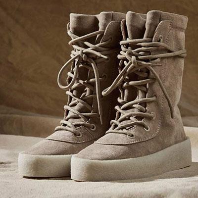 [2ne1 SANDARA/KANYE/JUSITIN BIEBER]PLATFORM CREPE Desert Boots/HIGH QUALITY SUEDE&PIG SKIN/LUXURY ITALIAN CREPE SOLES