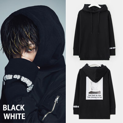 [8 X G-DRAGON Collaboration (Original)] GD BACK PRINT HOODIE