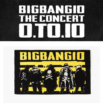 [BIGBANG OFFICIAL GOODS]BIGBANG MADE/[10th]BIGBANG CHEERING TOWEL