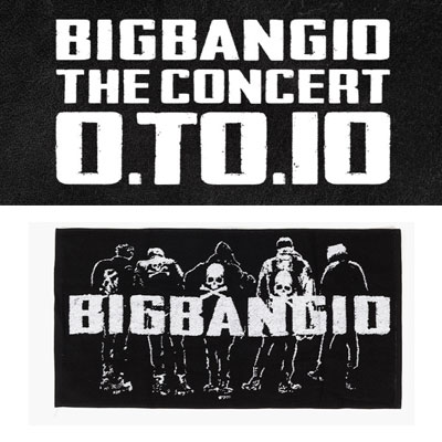 [BIGBANG OFFICIAL GOODS]BIGBANG MADE/[10th]BIGBANG CHEERING TOWEL SMALL