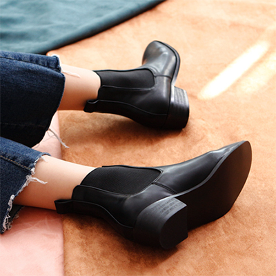 [RANG SHE] Moden style ANKLE CHELSEA BOOTS