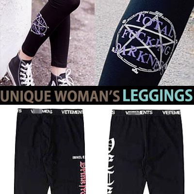 WOMAN'S LEGGINGS/UNIQUE/3TYPE