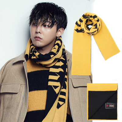 [8 X G-DRAGON Colaboration]GDLettering Muffler G-Dragon GD Colaboration 8SECONDS