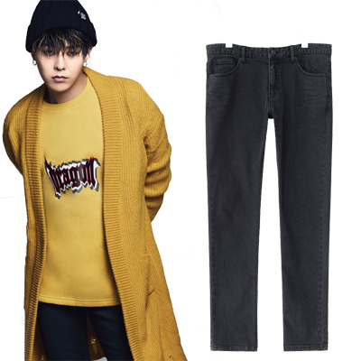 2016 FW [8 X GD's PICK] Tapered Denim G-Dragon GD G-DRAGON Colaboration 8SECONDS