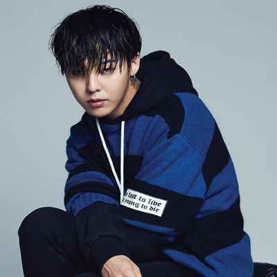 2016 FW [8 X GD's PICK] GD Blue Stripe Knit Pull Over G-DRAGON Colaboration 8SECONDS