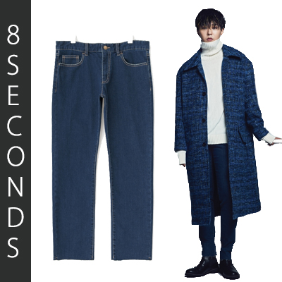 2016 FW [8 X GD's PICK] GD Washing Normal Jeans G-DRAGON Colaboration 8SECONDS