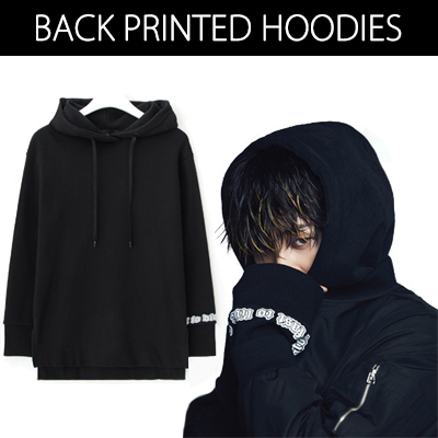 2016 FW [8 X GD's PICK] GD Back Printing Hoodie G-DRAGON Colaboration 8SECONDS