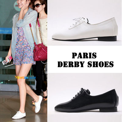 [RANG SHE][22.5~25.0cm]SIMPLE DESIGN ELEGANT SHOES 2COLOR