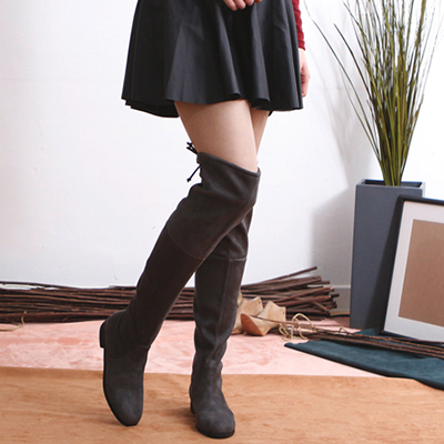 [RANG SHE]SUEDE THIGH BOOTS