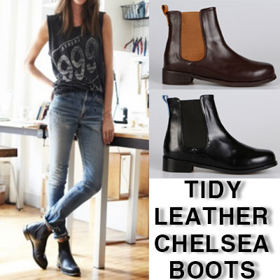 TIDY CHELSEA BOOTS