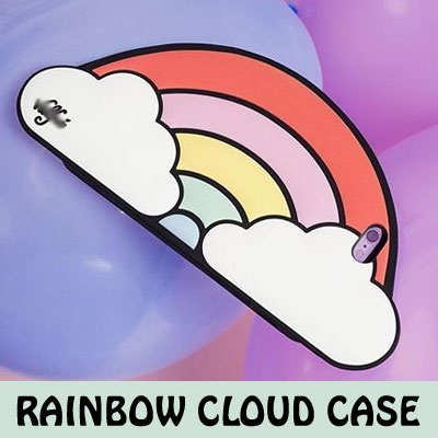 RAINBOW CLOUDE CASE/only iPhone6/6s/6+/6s+