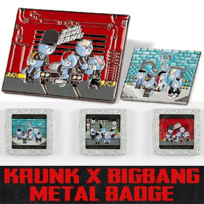 KRUNK X BIGBANG METAL BADGE
