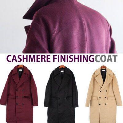 FINE CASHMERE DOUBLE LAYERED COAT