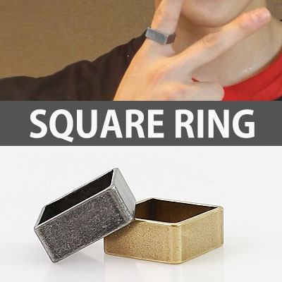 K-POP IDOL EXO STYLE! ANTIQUE SQUARE RING