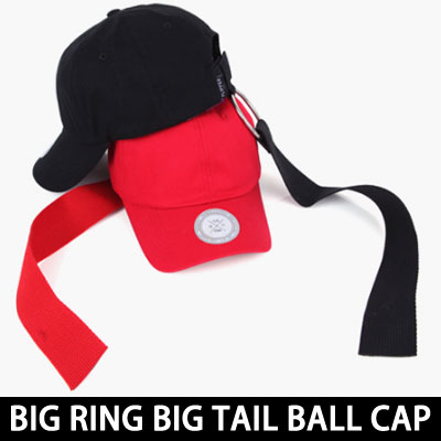 BIG RING&BIG TAIL UNIQUE&STYLISH  BALL CAP 3COLOR