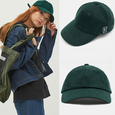 2016 FW [8 X GD's PICK] GREEN G INITIAL BALL CAP