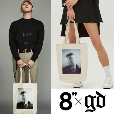 2016 FW [8 X GD's PICK]CANVAS PRINTING BAG