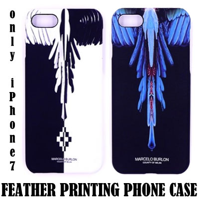 FEATHER PRINTING PHONE CASE iPhone7 ONLY