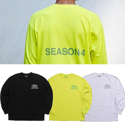 NUMBER4 LOGO LONG SLEEVE T-SHIRTS/3color