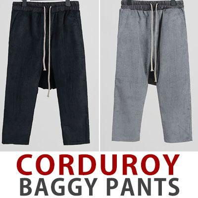 CORDUROY BAGGY PANTS