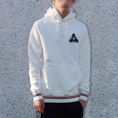 3color TAPE POINT PULLOVER HOODIE