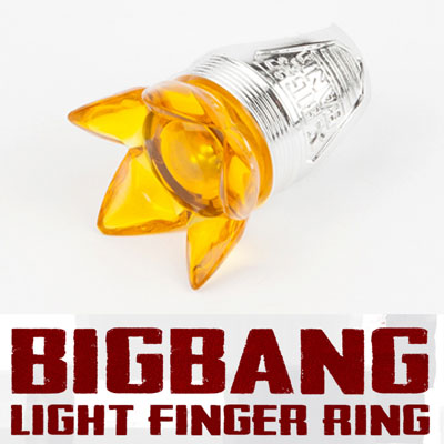 【official goods】[0TO10] BIGBANG LIGHT FINGER RING