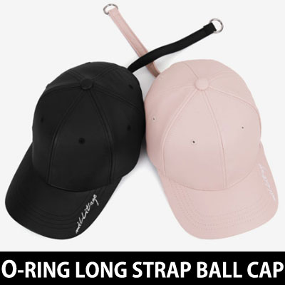 O-ring LONG STRAP LETTERING BALL CAP