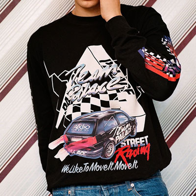 TEAM RACING LONG SLEEVE SWEATSHIRTS