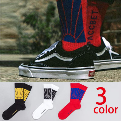 SHINING SUN PATTERN 3COLOR SOCKS