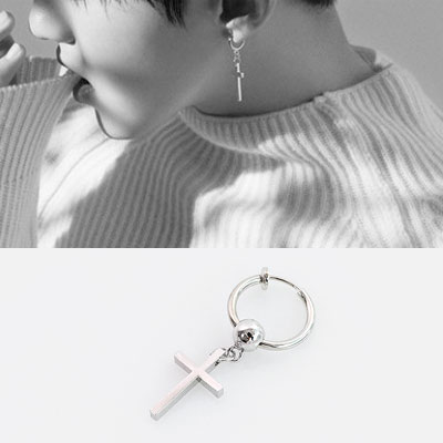 [1ea]SENSITIVE SENSIBILITY CROSS PIERCING/k-pop idol seventeen st.