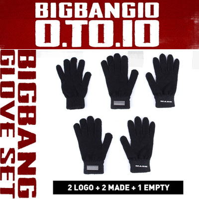 【officail goods】(original goods)BIGBANG GLOVE SET