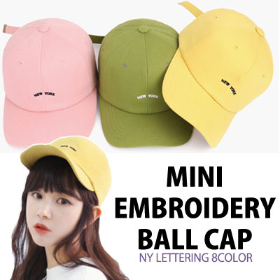 MINI EMBROIDERY BALL CAP