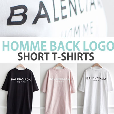 HOMME BACK LOGO T-SHIRT