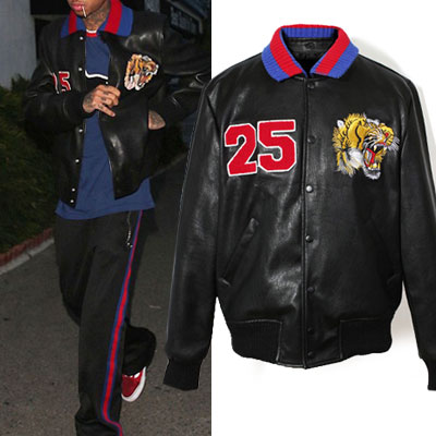 TIGER&NUMBER 25 LEATHER JACKET