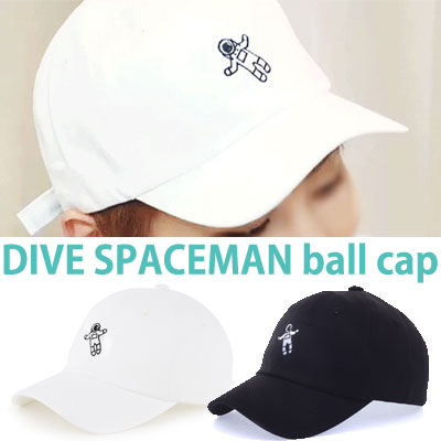 k-pop idol EXO st! DIVE SPACEMAN LETTERING STRAP BALL CAP