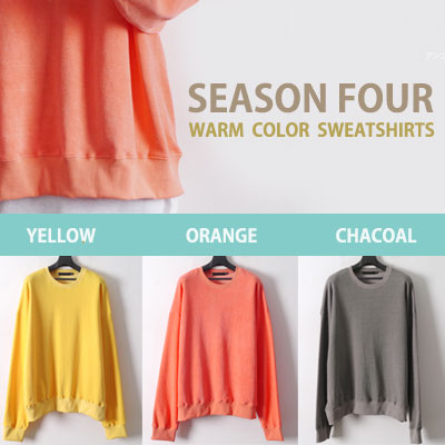 SEASON FOUR WARM COLOR SWEATSHIRT