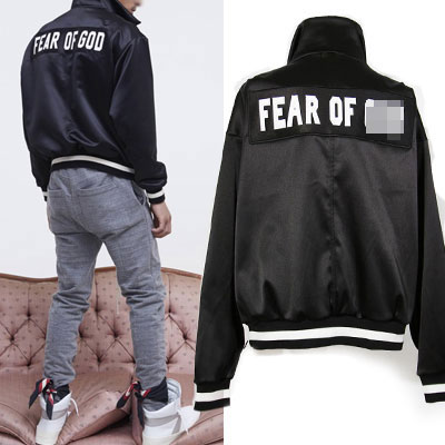 BIG LOGO PATCH SATIN ANORAK SWEATSHIRTS