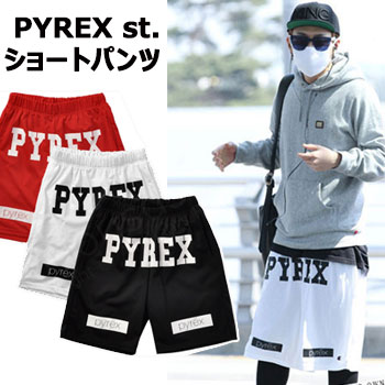 Do B2ST style ★ Yong of BEAST Hyo was wearing at the time of departure at 120 627 Airport Pyrex shorts * popular