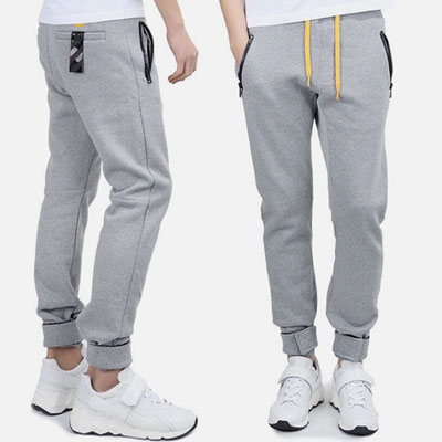 HIGH quality YELLOW STRAP POINT JOGGER PANTS