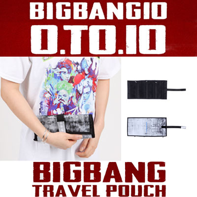 【officail goods】(original goods)BIGBANG TRAVEL POUCH