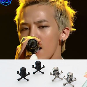 g Dragon (Big Bang) favorite pirate earrings