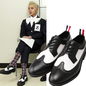 [24.5~28.0cm]G-DRAGON STYLE! THOM ** wing tip shoes // elegant high-quality material