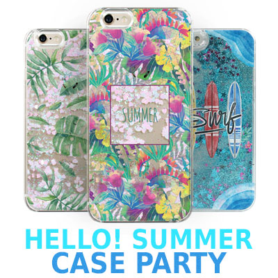 HELLO!SUMMER CASE PARTY/SMARTPHONE CASE/30TYPE/Galaxy/ iPhone