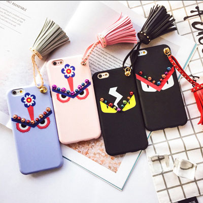iPhone MONSTER TASSEL/smartphone cover/smartphone case